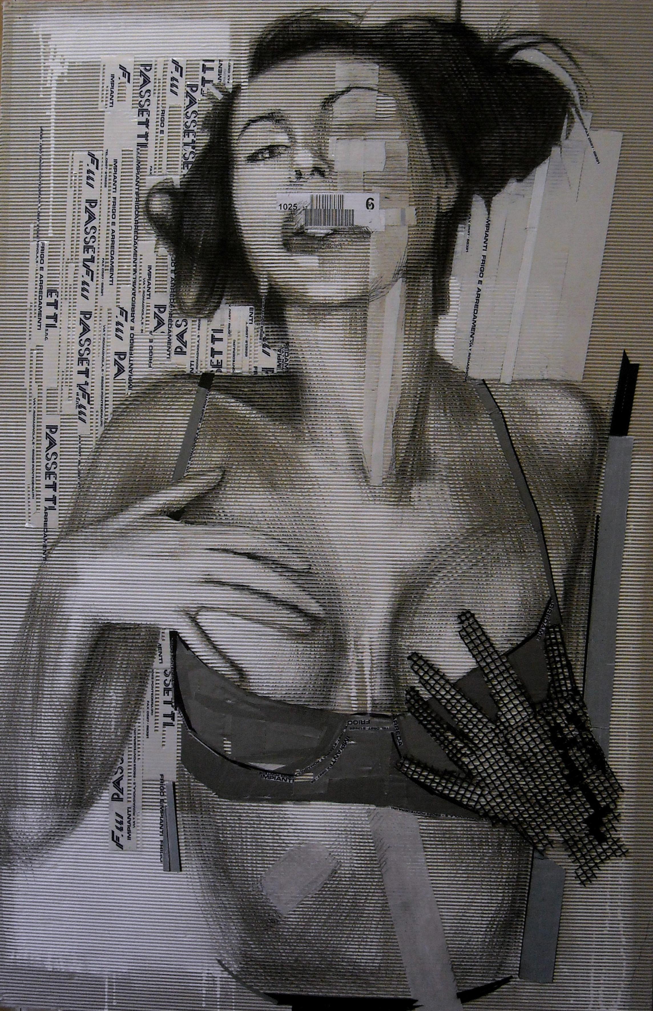 la donna dalle chiome nere